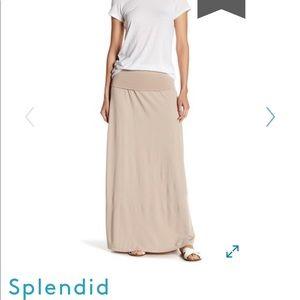 Splendid convertible maxi skirt / dress size XS